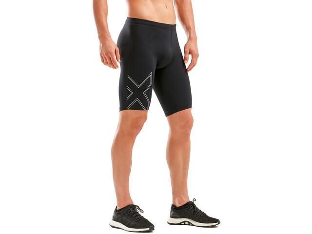2XU Aspire Compression Shorts Hombre, amarillo